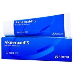 Akneroxid 5 żel 0,05 g/g 50 g