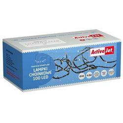 Lampki choinkowe 100LED AJE-CL10010RGBO multi kol zew