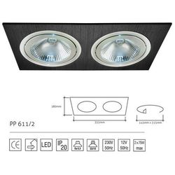 Lampa sufitowa PP Design 611/2