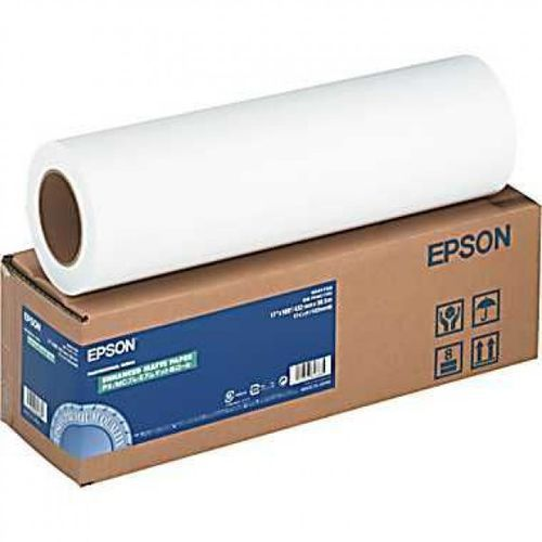 "Epson C13S041619 Enhanced Adhesive Synthetic Paper Roll, 44"" x 30,5 m, 135 g/m2"