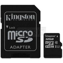 Karta pamięci Kingston microSD 32GB - SDC10G2/32GB
