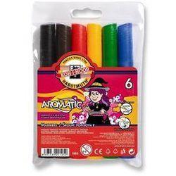 Flamastry zapachowe 6 kolorów