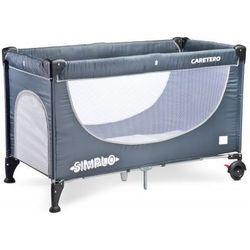 Caretero Simplo łóżeczko turystyczne grey