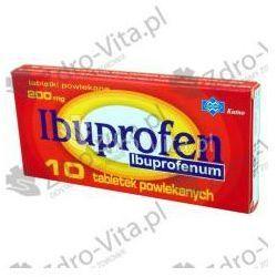 Ibuprofen (Polfarmex), 200 mg, tabl.powl.,10szt,bl