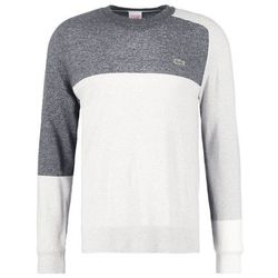 Lacoste LIVE Sweter paladium chine/medium grey jaspe/white/black