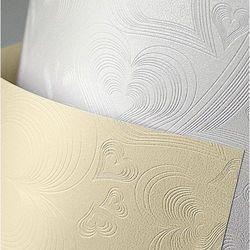 Karton ozdobny Premium Love Galeria Papieru, kremowy, format A4, opakowanie 20 arkuszy, 203402