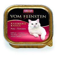 Animonda Vom Feinsten dla kotów kastratów szalka 100g NOWE SMAKI