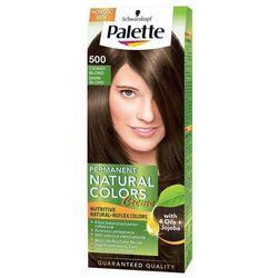 Palette Permanent Natural Colors, Farba do włosów, 500 Ciemny blond