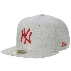 czapka z daszkiem New Era 59F Jersey Pop MLB New York Yankees - Gray/Scarlet