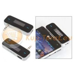 Transmiter FM MP3 LCD Iphone 5 Jack 3,5mm