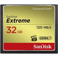 COMPACT FLASH EXTREME 120MB/s 32GB UDMA7