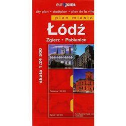 Plan miasta - Łódź, Zgierz, Pabianice (opr. miękka)