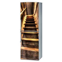 Naklejka na lodówkę - Schody na strych 1245