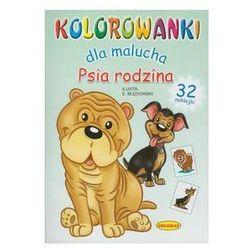 Psia rodzina Kolorowanki dla malucha