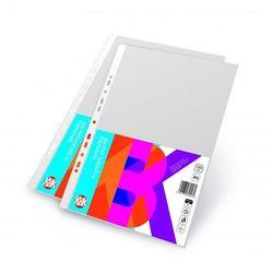 Koszulki na dokumenty KBK A4 krystaliczne 50 micronów 100sztuk