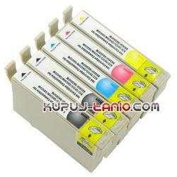 tusze T1285 do Epson (5 szt., CRYSTAL) do Epson S22 SX125 SX130 SX230 SX235W SX425W SX435W SX445W