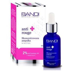 Bandi - Anti Rouge Concentrated Capillary Ampoule - Skoncentrowana ampułka na naczynka - 30 ml
