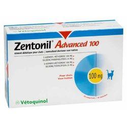 VETOQUINOL Zentonil Advanced - dodatek żywieniowy wspomagający funkcję wątroby 100mg 30tabl.