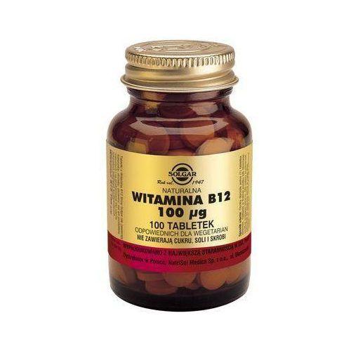 Naturalna Witamina B12 - 100 tabletek - Solgar Kurier: 13.75, odbiór osobisty: GRATIS!