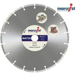 MARCRIST Tarcza diamentowa MA750 do marmuru, materiałów budowlanych 200x25,4mm (MC1118.0200.25)