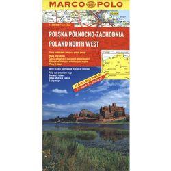 Polska Północno - Zachodnia. Mapa Marco Polo 1:300 000 (opr. broszurowa)