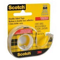Taśma dwustronnie klejąca Scotch 12mmx6,3m z podajnikiem