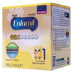 Mleko ENFAMIL Premium 1 Lipil 0-6 miesiąca mleko początkowe 1200g