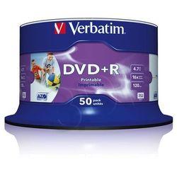 DVD+R Wide Inkjet Printable No ID Brand
