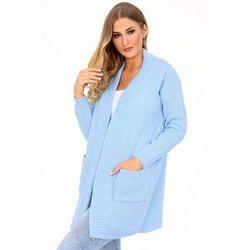 swetry damskie garcia kina kardigan niebieski w kategorii