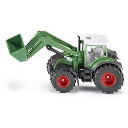Siku 10 - Traktor Fendt ze spycharką