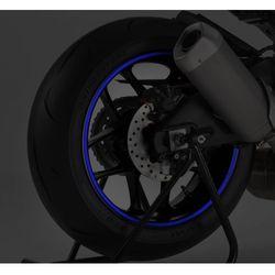 Niebieski odblaskowy pasek PUIG na felgi (z aplikatorem)