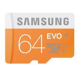 Samsung karta pamięci micro SDXC 64GB Class 10 Evo (transfer up to 48MB/s)