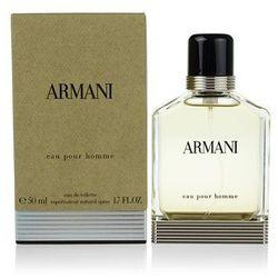 Armani Eau Pour Homme (2013) woda toaletowa dla mężczyzn 50 ml + do każdego zamówienia upominek.