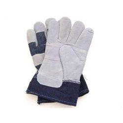 Rękawice wzmacniane skórą - RB