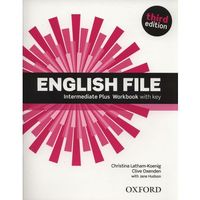 English File Inter.Plus WB+key (opr. miękka)
