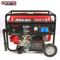 Generator prądu HOLIDA 5500E jedna faza 5,5 kW rozrusznik elektryczny