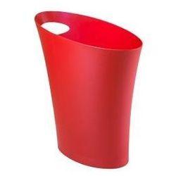 Kosz na śmieci Skinny - czerwony