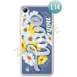 Obudowa Zolti Ultra Slim Case - HTC Desire 626 - Romantic- Wzór L14 - L14