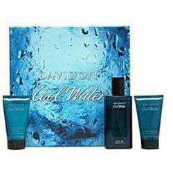 Davidoff Cool Water For Men EDT 75 ml+ ŻEl 50 ml+Balsam 50 ml