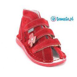 Buty Daniel wzór 270, kolor czerwony