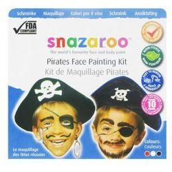 Farby do malowania twarzy Snazaroo - zestaw tematyczny PIRACI