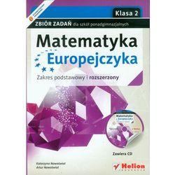 Matematyka Europejczyka 2 Zbiór zadań z płytą CD (opr. miękka)