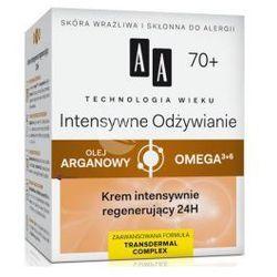 AA Technologia Wieku 70+ Intensywne Odżywianie (W) krem intensywnie regenerujący 24h 50ml