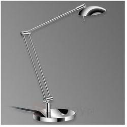 Stylowa lampa stołowa LED LEX chrom