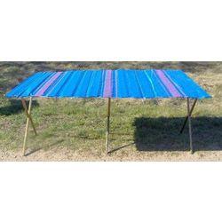 Składany stół do handlu wzmocniony długość ok.2m + szeroki blat