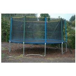 EURO 457 cm (15ft) - Trampolina ogrodowa z siatką zabezpieczającą i drabinką