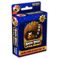 Puszka kolekcjonerska Chewbacca + talia kart do gry Star Wars Angry Birds