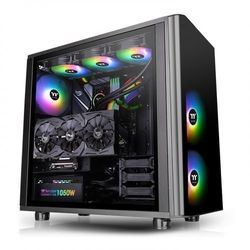 Thermaltake obudowa view 31 argb tempered glass - black