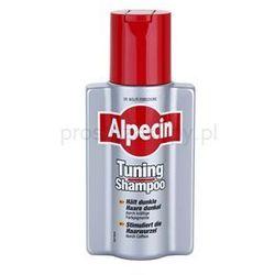 Alpecin Tuning Shampoo szampon tonujący do pierwszych siwych włosów + do każdego zamówienia upominek.