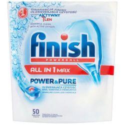 FINISH 50szt Powerball All in 1 Max Power&Pure Tabletki do mycia n